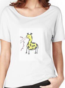 Laser Giraffe Women's Relaxed Fit T-Shirt