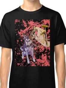 Shiva and her Bike Ruby Classic T-Shirt