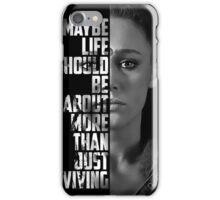 Commander's Spirit Lives On  iPhone Case/Skin