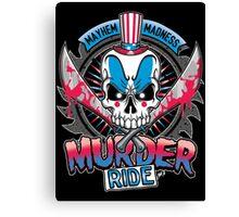 Murder Ride Canvas Print