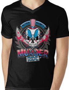 Murder Ride Mens V-Neck T-Shirt