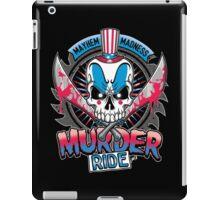 Murder Ride iPad Case/Skin