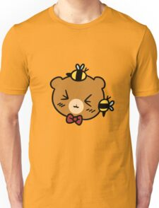 Bumble Bee bear Face Unisex T-Shirt
