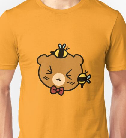 Bumble Bee bear Face Unisex T-Shirt