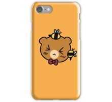 Bumble Bee bear Face iPhone Case/Skin