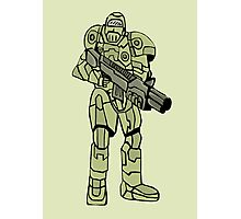 Future soldier Photographic Print
