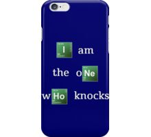 Breaking Bad 'I am the one who knocks' iPhone Case/Skin
