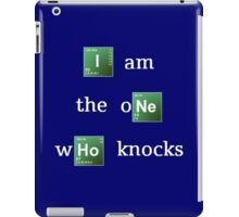 Breaking Bad 'I am the one who knocks' iPad Case/Skin