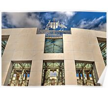 Parliament House Poster