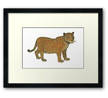 Panther Framed Print