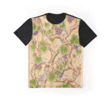 Lemurs in the Grapevine Graphic T-Shirt
