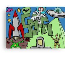 Science fiction Canvas Print