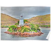 Macquarie Harbour Lighthouse - HDR Poster