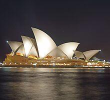 Sydney Opera House by Peter Hocking