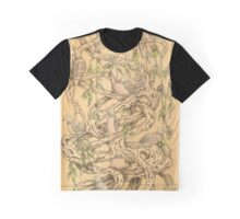 Doves in the olive tree Graphic T-Shirt