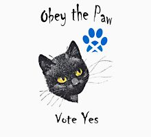 Obey the Cat Paw Scottish Independence T-Shirt Unisex T-Shirt