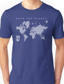 Hack the Planet! - Resistance Unisex T-Shirt