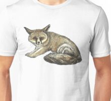 Fox with Red Eyes Unisex T-Shirt