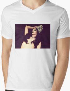 Violet Crown  Mens V-Neck T-Shirt
