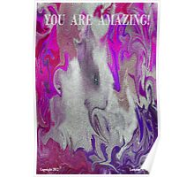 JESUS SEES YOU AS AMAZING Poster