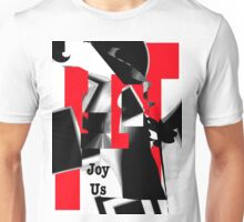Joy Us Graphic with Red Unisex T-Shirt