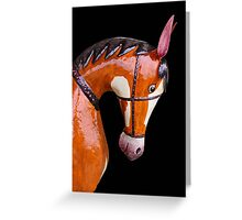 Tin Horse Greeting Card