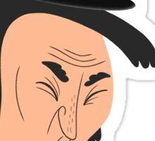Vomiting Abe Lincoln Sticker