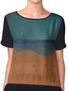 See Space: Mars Chiffon Top