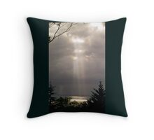 Beams Throw Pillow