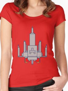 Space Invader Women's Fitted Scoop T-Shirt