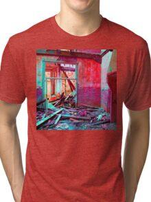 a colorful mess  Tri-blend T-Shirt