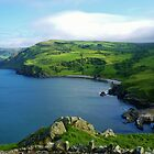 Torr Head  Harbour County Antrim Ireland  by Sean McAughey