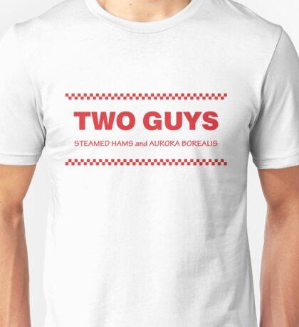 Two Guys - Steamed Hams Unisex T-Shirt
