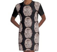 Owl Graphic T-Shirt Dress