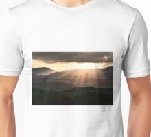 Sunset in Val 'Orcia Unisex T-Shirt
