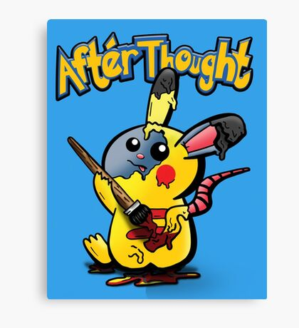 Thunder Mouse... Suit Up!! Canvas Print