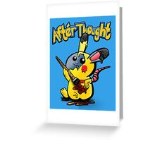 Thunder Mouse... Suit Up!! Greeting Card