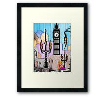 SIMPLY LONDON Framed Print
