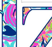 dz  floral Sticker