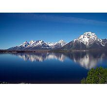 Elk Island Grand Tetons Photographic Print
