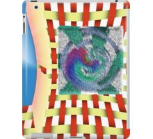 Fur, Metal and Weave iPad Case/Skin