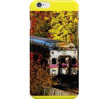 Commuter Rail to Boston iPhone Case/Skin