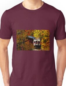 Commuter Rail to Boston Unisex T-Shirt