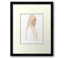 Game of Thrones - Daenerys Targaryen Framed Print