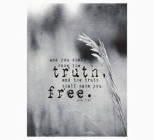 John 8 Truth Free Kids Clothes