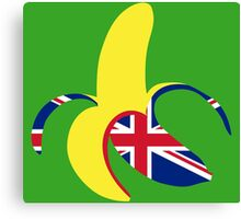 British Banana Canvas Print