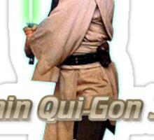 I Main Qui-Gon Jinn Sticker