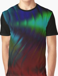 Abstract Wave Graphic T-Shirt