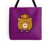 Halloween Bear Face Tote Bag