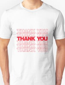 Thank You Plastic Bag Unisex T-Shirt